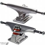 "GULLWING ""Shadow DLX"" Skateboard Trucks 9.0"" PAIR SILVER Pool Park Street Old Skool Longboard"
